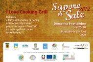 cartolina I like cooking - Cervia turismo - Comune di Cervia