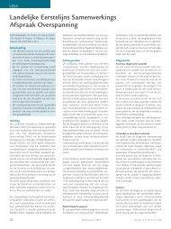 Overspanning (LESA) - Psychisch & Werk