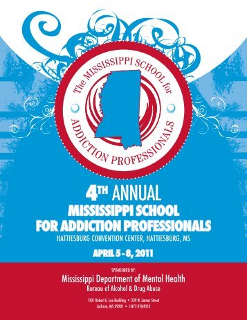 mississippi school for addiction professionals