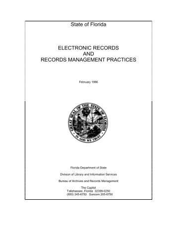 Electronic Records Management Practices - Office of District ...