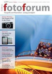 Die Finepix X100 in der Praxis Das iPad 2 für Fotografen - Fuji X ...