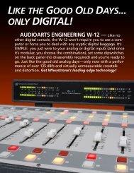audioarts engineering w-12