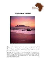 Cape Town & vinlandet - African Adventure