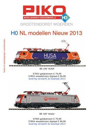 Klik hier voor alle H0 en N-spoor NL nieuws van Piko - Grootendorst