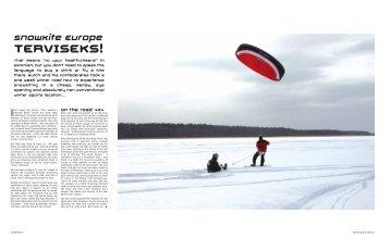 SnowKite Europe TERVISEKS! - Wind Warrior