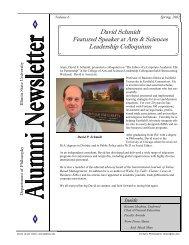 newsletter final - Philosophy - Illinois State University