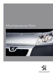 Boxer Maintenance Plan booklet.indd - Peugeot