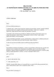 pravilnik o tehničkim normativima za stabilne ... - Thermo Dragons