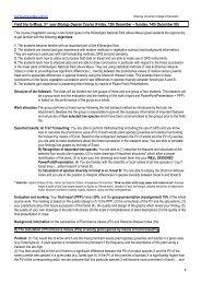 Methods and Background Information - MWUCE