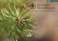 Growing a sustainable future - 2.7MB - Scottish Woodlands
