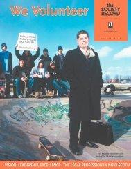 SR Vol 23 No 2, April 2005 - Nova Scotia Barristers' Society