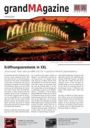 Eröffnungszeremonie in XXL - MA Lighting