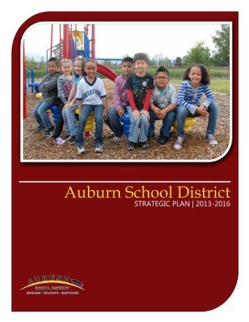 Strategic Improvement Plan 2013-2016 - Auburn School District