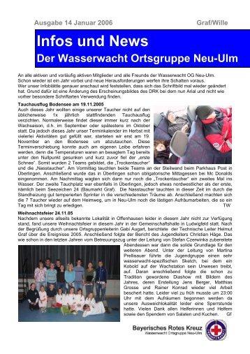 Infos und News 14 - Wasserwacht Ortsgruppe Neu-Ulm