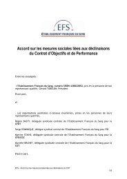 Accord sur les mesures sociales - CFDT Santé Sociaux