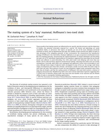 Sexual selection and speciation in mammals butterflies and spiders