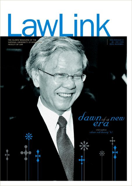 Vol 5 No. 2 July - December 2006 - Faculty of Law - National ...