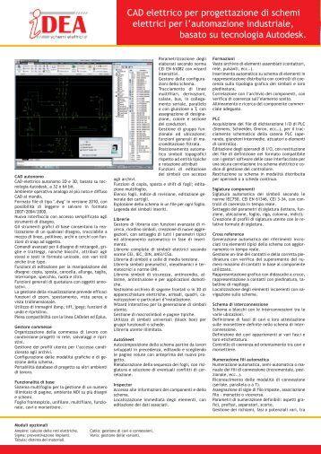 Schemi Elettrici Autocad : Schemi elettrici e electro graphics