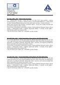 Mezilaboratorní porovnávací zkouška D1- 2008 - Page 5