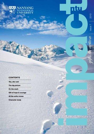 2010 Issue 7 - Nanyang Technological University