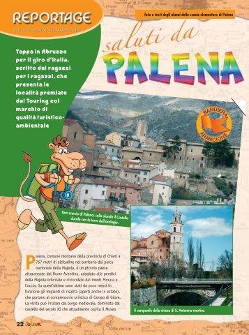 22 Tappa in Abruzzo per il giro d'Italia, scritto dai ragazzi per i ...