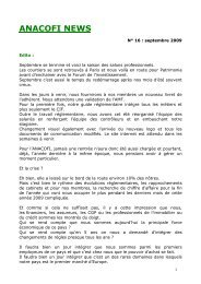 ANACOFI NEWS n°16