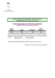 Llistes baremades[pdf 232 Kb] - Ajuntament de Santa Coloma de ...