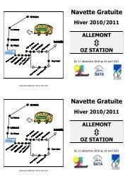 Oz Station - Allemont