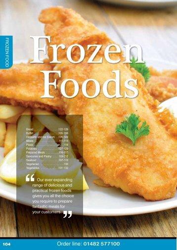 Download the Frozen Brochure 2012/2013 - Turner Price
