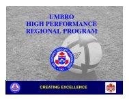 creating excellence - Ontario Soccer Association