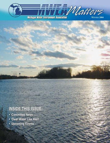 Winter 2004-2005 - Michigan Water Environment Association