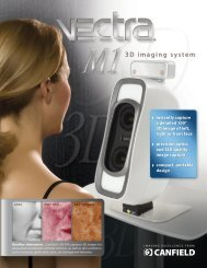 VECTRA M1 3D imaging system - Canfield Scientific Inc