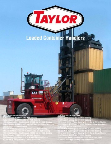 THDC Brochure - Taylor Machine Works