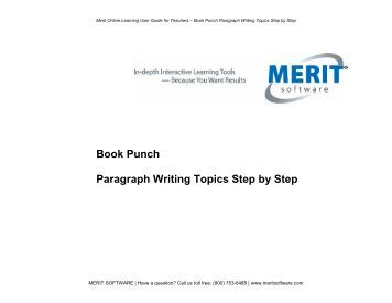 merit software essay punch Merit software resides in new york, usa and their email is benw@meritsoftwarecom earlier, essay punch owners included merit software 121 west 27 street in 2013.