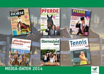 Tennis NORDWEST - Pferdesport Verlag Ehlers GmbH