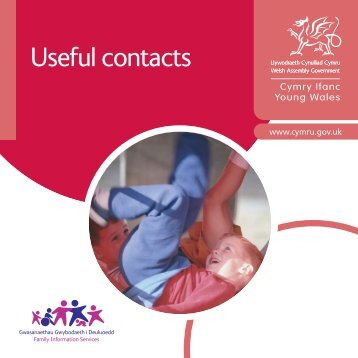 Useful contacts - Childcare related - Rhondda Cynon Taf