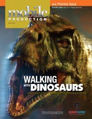 WALKING dinosaurs - Mobile Production Pro