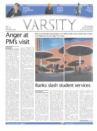 Anger at PM's visit - Varsity