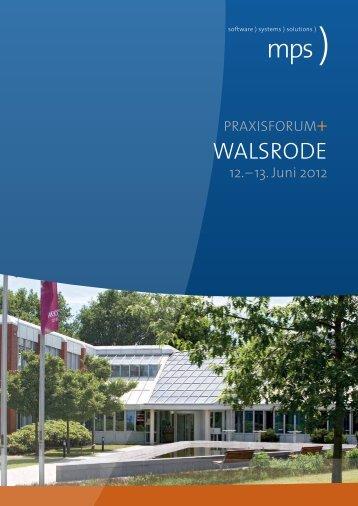Praxisforum WalsroDe - Mps