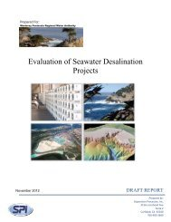 Evaluation of Seawater Desalination Projects - Monterey Peninsula ...