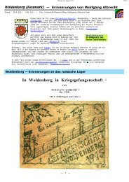 In Woldenberg in Kriegsgefangenschaft 1 - Dobiegniew ...
