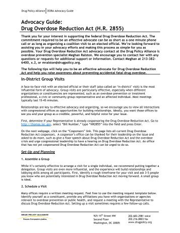 Drug Overdose Reduction Act Advocacy Guide _2_.rtf - Drug Policy ...