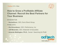 How to Grow a Profitable Affiliate Channel: Recruit the Best Partners ...