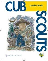 Cub Scout Leader Book