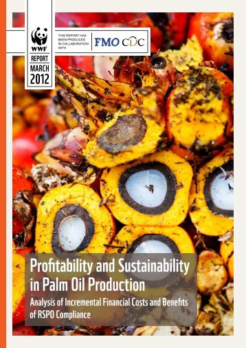 Profitability and Sustainability in Palm Oil Production PDF - WWF