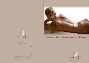 Energetische Ganzheitskosmetik nach den 5 ... - Beautycompany