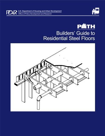 Builders' Guide to Residential Steel Floors - ToolBase Services