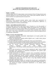 Ek 20 - Akdeniz Üniversitesi