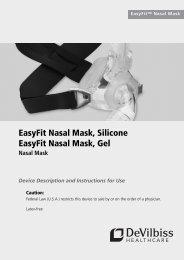 EasyFit Nasal Mask Fitting Guide
