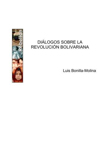 DIÁLOGOS SOBRE LA REVOLUCIÓN BOLIVARIANA
